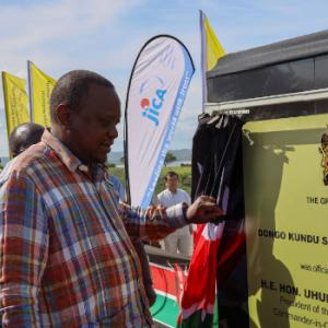 Uhuru launches construction of Dongo Kundu Special Economic Zone